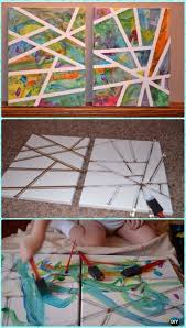 diy toddler scribble art canvas instruction diy canvas wall art ideas tutorials