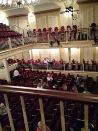 Mcalister Auditorium Seating Chart View Of Seating From The Balcony Picture Of Newberry Opera