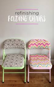 diy furniture makeover ideas. diy refinished folding chairs great idea for transforming plain into decorator chic pieces diy furniture makeover ideas s