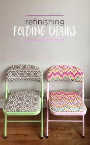 diy furniture restoration ideas. diy refinished folding chairs great idea for transforming plain into decorator chic pieces diy furniture restoration ideas