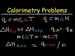 calorimetry problems thermochemistry