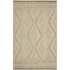 8 x 10 large vado cream light gray and tan area rug nomad rc willey furniture