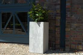 Pflanzk Bel Blumenk Bel Block 80 Aus Fiberglas Beton Design