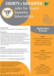 Jobs For Youth Summer Internships Human Resources Department