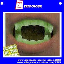 sharp dentures. get quotations · halloween gift vampire teeth sharp joke cool bulk glow n\u0027the dark dentures