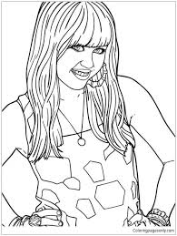 See more ideas about disney coloring pages, coloring pages, movie covers. Disney Channel Hannah Montana Movie Coloring Pages Descendants Coloring Pages Free Printable Coloring Pages Online