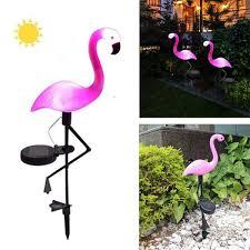 Senarai Harga Outdoor Solar Garden Light Flamingo Shape Waterproof