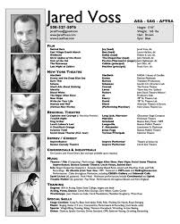 Acting Resume Examples Unique Gallery Of Olmsted Performing Arts Creating A Theatrical R Sum