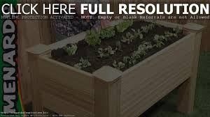 how to build a raised bed vegetable garden box raised bed planter menards you
