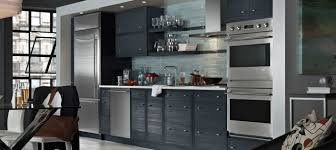 One Wall Kitchens Kitchen Style Gray Cabinets Single Wall One Wall Galley Kitchen