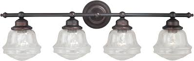bronze bathroom light fixtures. Bathroom Light Fixtures Bronze Wall Fixture With Rubbed Four Bath Sconce R