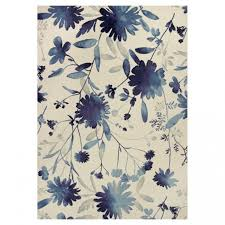 flower shaped rug rugs fl blue the wilshire collection flowers city black pink shabby chic