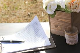 Wedding Guestbook Signing Ideas Forget Him Knot