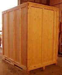 wooden storage containers. Used Storage Vaults In Wooden Containers