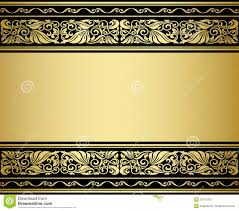 Gilded Design Gilded Ornmaments And Patterns Stock Vector Illustration