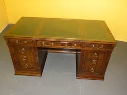 sligh furniture office room. Sligh Furniture Office Room. Leather Top Mahogany Desk By - Image 2 Of Room E