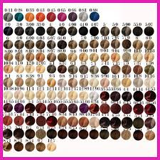 Wella Hair Color Chart Koleston Perfect 534644 Wella