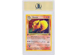 Flareon-Holo 1999 Pokemon TCG Jungle 1st Edition #3/64 - 1999