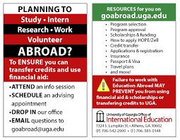 Ea: Request Form For Study Abroad Publications (Delete)