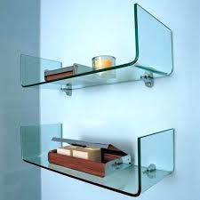 electronics shelf wall mount picture gallery of sophisticated glass wall shelves for each room design electronics shelf wall