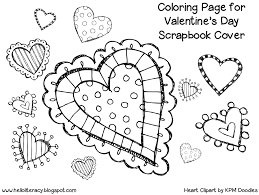 Valentines Day Coloring Pages For 1st Graders   Great free clipart ...
