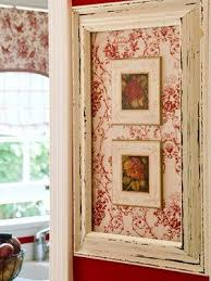 take an old picture frame choose a fun fabric for the background on wall art old picture frames with 165 best frames images on pinterest canvases good ideas and
