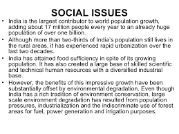 social issues and the environment social