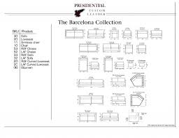 Home Design : Barcelona Chair Dimensions Bath Remodelers ...
