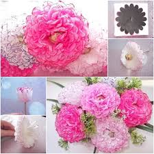 Make Easy Paper Flower How To Make Easy Chocolate Paper Flower Bouquet