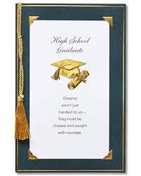 American Greetings High School Graduation Card With Tassel