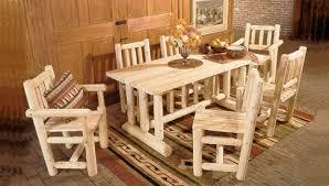 making rustic furniture. Rustic Cabin Dining Of Natural Cedar Logs Making Furniture F