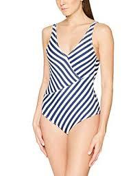 Dorina Womens Ambrosia Swimsuit Blue Navy Stripe 300