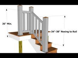 exterior stair height. exterior stair height n