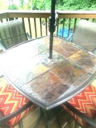 tempered glass patio table tempered glass table top replacement good patio table replacement glass for medium