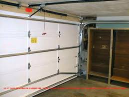 low headroom garage door low headroom garage door installation low headroom garage door installation manual genie