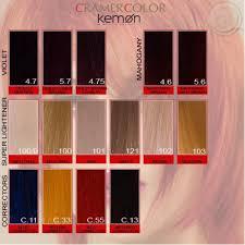 Kemon Color Chart Sbiroregon Org
