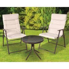 3 piece patio furniture set genoa range