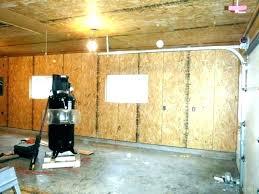 garage wall covering metal garage walls