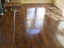 hardwood floors background. Cleaning And Re-coating Hardwood Floors Background