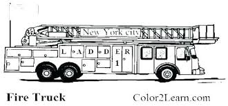 Free Fire Truck Coloring Pages Dodge Truck Coloring Pages Printable