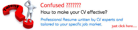 How to make your CV effective? Click here to view resume writing services