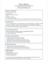 Resume Templates For Graduate Students Elegant Master Student