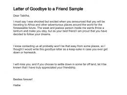 letter of goodbye to a friend sample 292 1