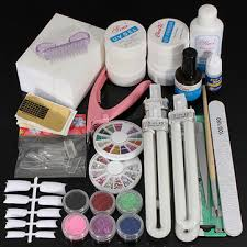 <b>36W UV</b> Gel Lamp Nail Art Manicure Tips Curing <b>Set</b> Kit - US$61.35