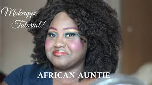 african auntie makeapps up tutorial afehyia pa chanel boateng you katniss everdeen makeup