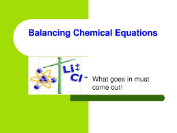 balancing chemical equations how to balance reactions easily