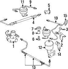 parts com® bmw 740il suspension components oem parts 2000 bmw 740il base v8 4 4 liter gas suspension components