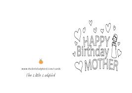 Black And White Birthday Cards Printable Printable Bday Card Visitingvet Info
