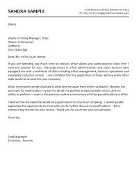 Cover Letter Medical Office Cover Medical Office Administrative