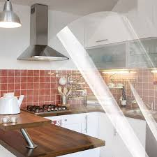 covering furniture with contact paper. Yazi 4Mil Clear Vinyl Self Adhesive Sticker Kitchen Units Cupboard Door Cover Counter Top Tiles 60x250CM 60x500CM-in Wall Stickers From Home Covering Furniture With Contact Paper O
